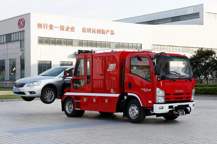 轻型多功能消防救援车